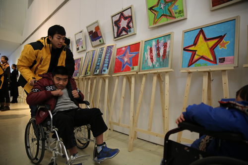 """生命痕迹——""""国际残疾人日""""特殊儿童美术作品展"""