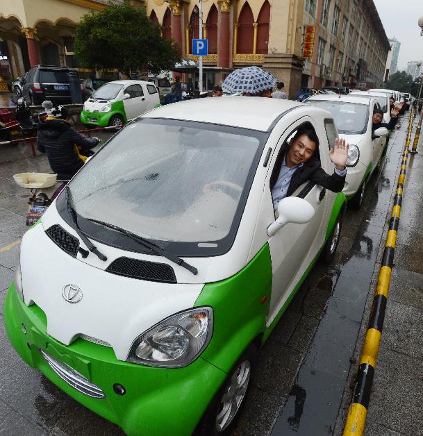 这种全部采用零排放标准的电动汽车计划在本月底前以