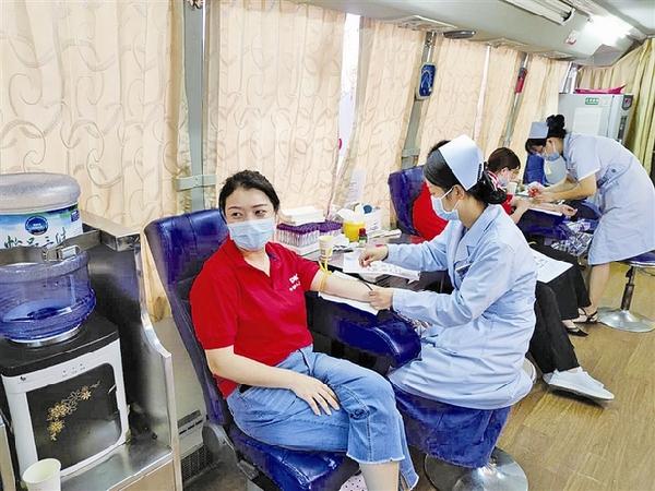 上饶保险业组织第九次无偿献血